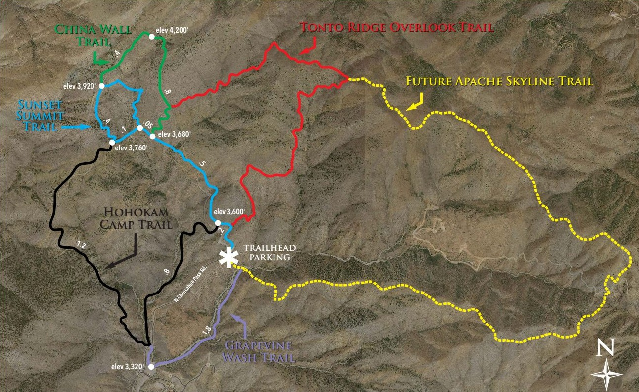desert mountain hikes