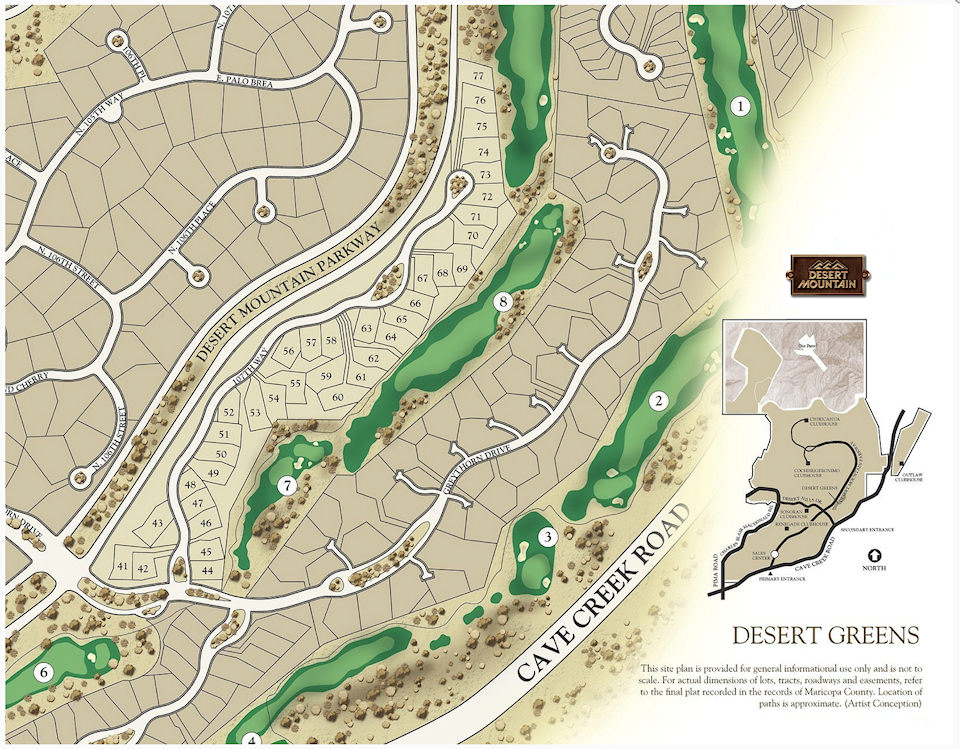Desert Greens Map — Desert Mountain Homes on old scottsdale area map, scottsdale mountain, estancia scottsdale map, scottsdale sports complex map, scottsdale silverado golf course, troon north golf course map, scottsdale sightseeing map, scottsdale city limits map, phoenician golf course map, scottsdale road map, scottsdale bike paths map, scottsdale clubs map, phuket golf map, gilbert az area map, scottsdale airport map, scottsdale private golf clubs, scottsdale resort map, scottsdale 16th hole,