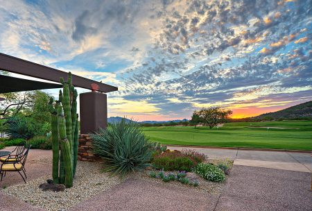 Desert Mountain Renegade Golf at Sunset