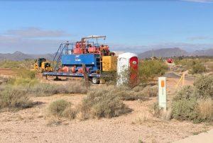 Drilling Desert Mountain