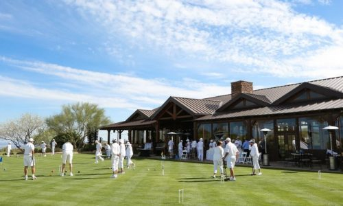 Give Golf Croquet a Try at Desert Mountain